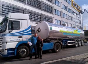Wir liefern Heizungswasser ab 30 Liter direkt an die zu befüllende Anlage.