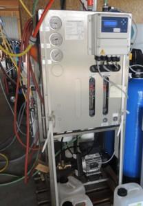 Umkehrosmoseanlage AH-OS 500 im Einsatz