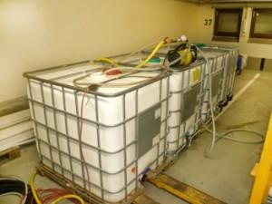 VE-Wasser in 1000Kg IBC Tanks