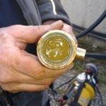 Schlammablagerungen in der Fermenterheizung